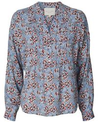 Lolly's Laundry Helena Blouse In Blue