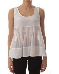 iBlues Cotton Top - White