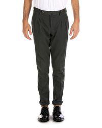 PT01 Charcoal Grey Pants - Pink