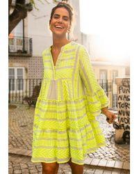 Devotion Ella Dress Neon Yellow