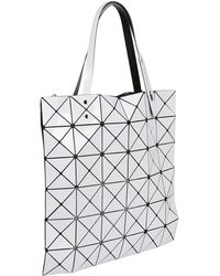 d9f67b6c284d6 Lyst - Bao Bao Issey Miyake Geometric Panel Shoulder Bag in Blue