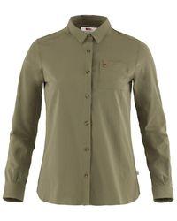 Fjallraven Fjallraven Ovik Lite Shirt Ls - Green