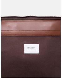 """Sandqvist Myrtel Briefcase 13"""" (leather) - Brown"""