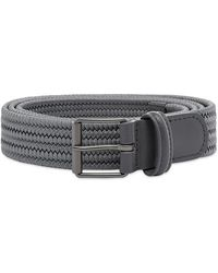 Andersons Andersons B0765 Slim Woven Textile Belt Grey