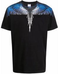 Marcelo Burlon Cmaa018f21jer0011045 Cotton T-shirt - Black