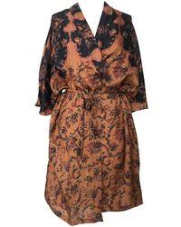 Mes Demoiselles Mojave Kimono - Brown