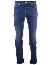 Jacob Cohen Light Other Materials Jeans - Blue