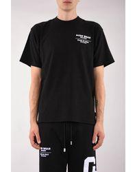 Gcds Crew-neck T-shirt With Logo - Black