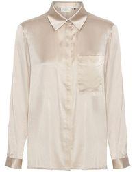Day Birger et Mikkelsen Day Shine Silk Shirt - White