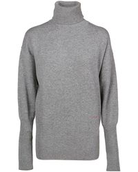 Victoria, Victoria Beckham Victoria Beckham Women's Juknt71008grey Gray Cashmere Sweater