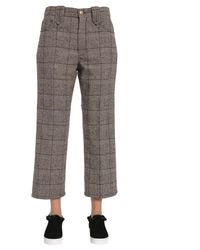 Marc Jacobs Cropped Trousers - Grey