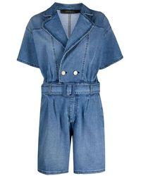 FEDERICA TOSI Cotton Dress - Blue