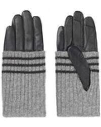 Becksöndergaard - Beck Sondergaard Mirral Gloves In Light Grey - Lyst