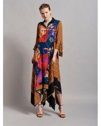 Beatrice B. Special Occasion Midi Dress - Multicolor