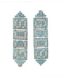 Gcds Swaro Earrings - Blue