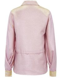Stine Goya Faith Shirt Jacket - Pink