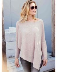 Repeat Cashmere Beige-rose Sweater - Multicolor