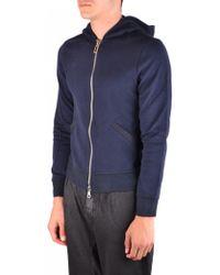 Paolo Pecora - Sweatshirt In Blue - Lyst