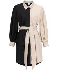 OU. Boutique Stories Dress Canal St. Martin - Black/beige