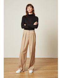 ALIGNE Aislyn Trouser In Stone - Natural