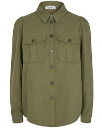 co'couture Cocouture Elle Olive Shirt - Green
