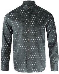 Paul Smith Polka Dot Print Shirt - Black