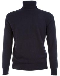 Ones Men's 0059905 Blue Cashmere Sweater