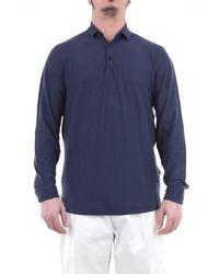 Heritage Men's Ml0845pblunavy Blue Cotton Polo Shirt