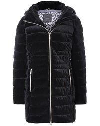 Geox Felyxa Long Quilted Jacket Colour: Black
