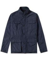 Woolrich Upland Field Jacket Navy - Blue