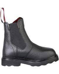 Marni Beatle Boots - Black