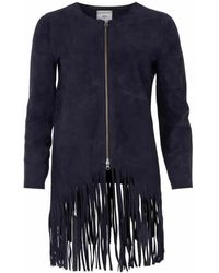 Minimum Nappa Jacket - Blue