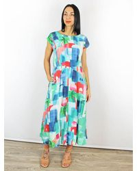 Emily and Fin Emily & Fin Elodie Marrakech Printed Dress - Blue