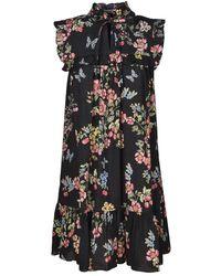 Vivetta Cotton Dress - Black