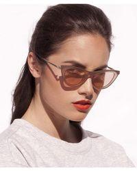 Le Specs Enchantress Sunglasses - Gray