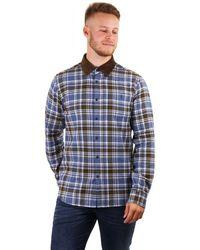 Barbour Steve Mcqueen Hilts Checked Shirt - Blue