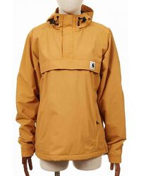 Carhartt Wip Women's Nimbus Pullover Jacket - Winter Sun Colour: Winte - Yellow