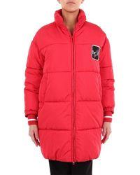 be Blumarine By Blumarine Women's 8605red Red Polyamide Down Jacket