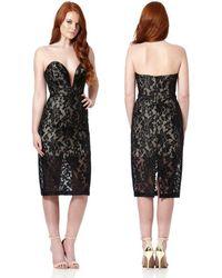 Jarlo Lace Dress - Black