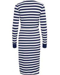 Inwear - In Wear Fillucca Drape Dress Blue - Lyst