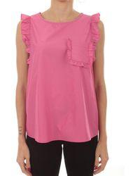 iBlues Fuchsia Cotton Tank Top - Pink