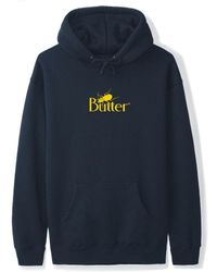 Butter Goods Bug Classic Logo Pullover Hoodie - Navy - Blue