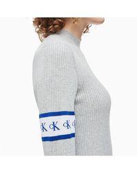 Calvin Klein - Mongram Tape Sweater - Lyst