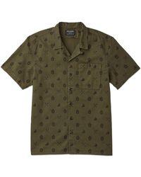 Filson Smokey Bear Camp Shirt - Marsh Olive - Green