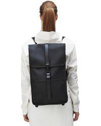 Rains - Black Backpack - Lyst
