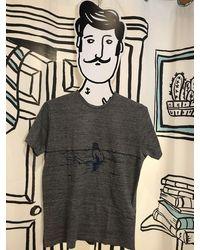 President's T-shirt Waiting In Grey Melange