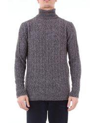 Circolo 1901 Sweater Men Dark Gray