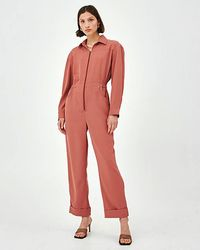 C/meo Collective Nutmeg Caprice Jumpsuit - Pink