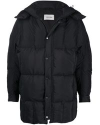 Henrik Vibskov Tiles Long Coat - Black
