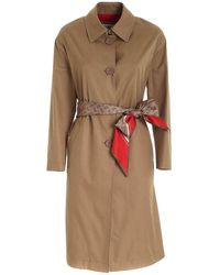 Herno Trench - Brown
